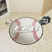 Eastern Kentucky Baseball Mat 27 diameter