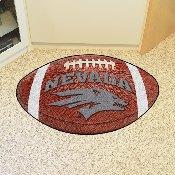 Nevada Football Rug 20.5x32.5