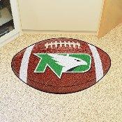 North Dakota Football Rug 20.5x32.5