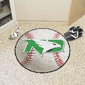 North Dakota Baseball Mat 27 diameter
