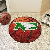 North Dakota Basketball Mat 27 diameter