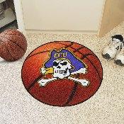 East Carolina Basketball Mat 27 diameter