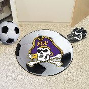 East Carolina Soccer Ball