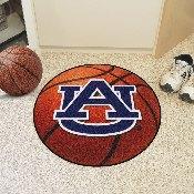 Auburn Basketball Mat 27 inch diameter