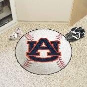 Auburn Baseball Mat 27inch diameter