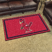 Retro Collection - 1950 - MLB - St. Louis Cardinals 4x6 Rug 44