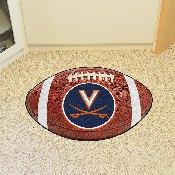 Virginia Football Rug 20.5x32.5