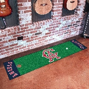 Retro Collection - 1966 - MLB - Los Angeles Angels Putting Green Mat 18