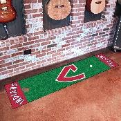 MLB - Cleveland Indians Putting Green Mat 18