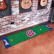 Retro Collection - 1974 - MLB - Atlanta Braves Putting Green Mat 18