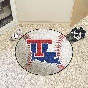 Louisiana Tech Baseball Mat 27 diameter