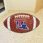Louisiana Tech Football Rug 20.5x32.5