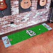 Retro Collection - 1976 - MLB - St. Louis Cardinals Putting Green Mat 18