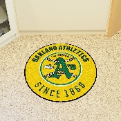 Retro Collection - 1981 - MLB - Oakland Athletics Roundel Mat 27