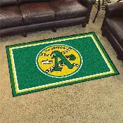 Retro Collection - 1981 - MLB - Oakland Athletics 4x6 Rug 44