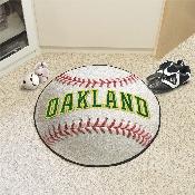 Retro Collection - 1981 - MLB - Oakland Athletics Baseball Mat 27