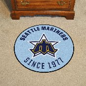 Retro Collection - 1981 - MLB - Seattle Mariners Roundel Mat 27