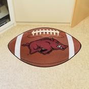 Arkansas Football Rug 20.5x32.5