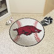 Arkansas Baseball Mat 27 diameter