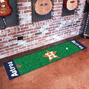 MLB  Houston Astros Putting Green Mat 18