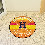 MLB  Houston Astros Roundel Mat 27