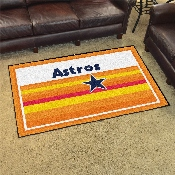 MLB  Houston Astros 4x6 Rug 44