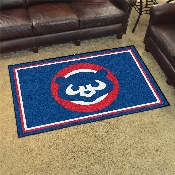 Retro Collection - 1990 - MLB - Chicago Cubs 4x6 Rug 44