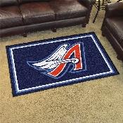 MLB - Anaheim Angels Retro 4x6 Rug