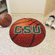Colorado State Basketball Mat 27inch diameter