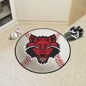 Arkansas State Baseball Mat 27 diameter