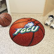 Florida Gulf Coast Basketball Mat 27 diameter
