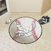 Eastern Washington Baseball Mat 27 diameter