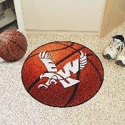 Eastern Washington Basketball Mat 27 diameter
