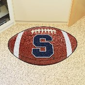Syracuse Football Rug 20.5x32.5