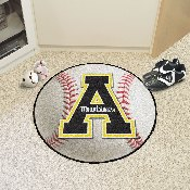Appalachian State Baseball Mat 27 diameter