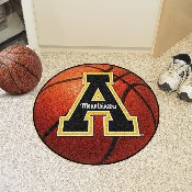 Appalachian State Basketball Mat 27 diameter