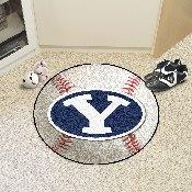 BYU Baseball Mat 27 diameter
