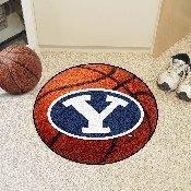 BYU Basketball Mat 27 diameter