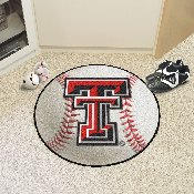Texas Tech Baseball Mat 27 diameter