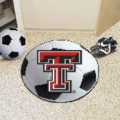 Texas Tech Soccer Ball