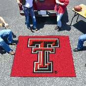 Texas Tech Tailgater Rug 5'x6'