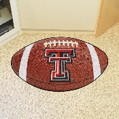 Texas Tech Football Rug 20.5x32.5