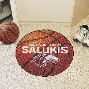 Southern Illinois Basketball Mat 27 diameter