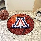 Arizona Basketball Mat 27 diameter