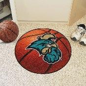 Coastal Carolina Basketball Mat 27 diameter