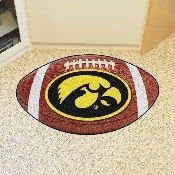 Iowa Football Rug 20.5x32.5