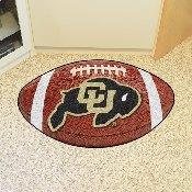 Colorado Football Rug 20.5x32.5