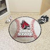 Ball State Baseball Mat 27 diameter