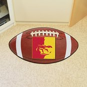 Pittsburg State Football Rug 20.5x32.5