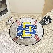 South Dakota State Baseball Mat 27 diameter